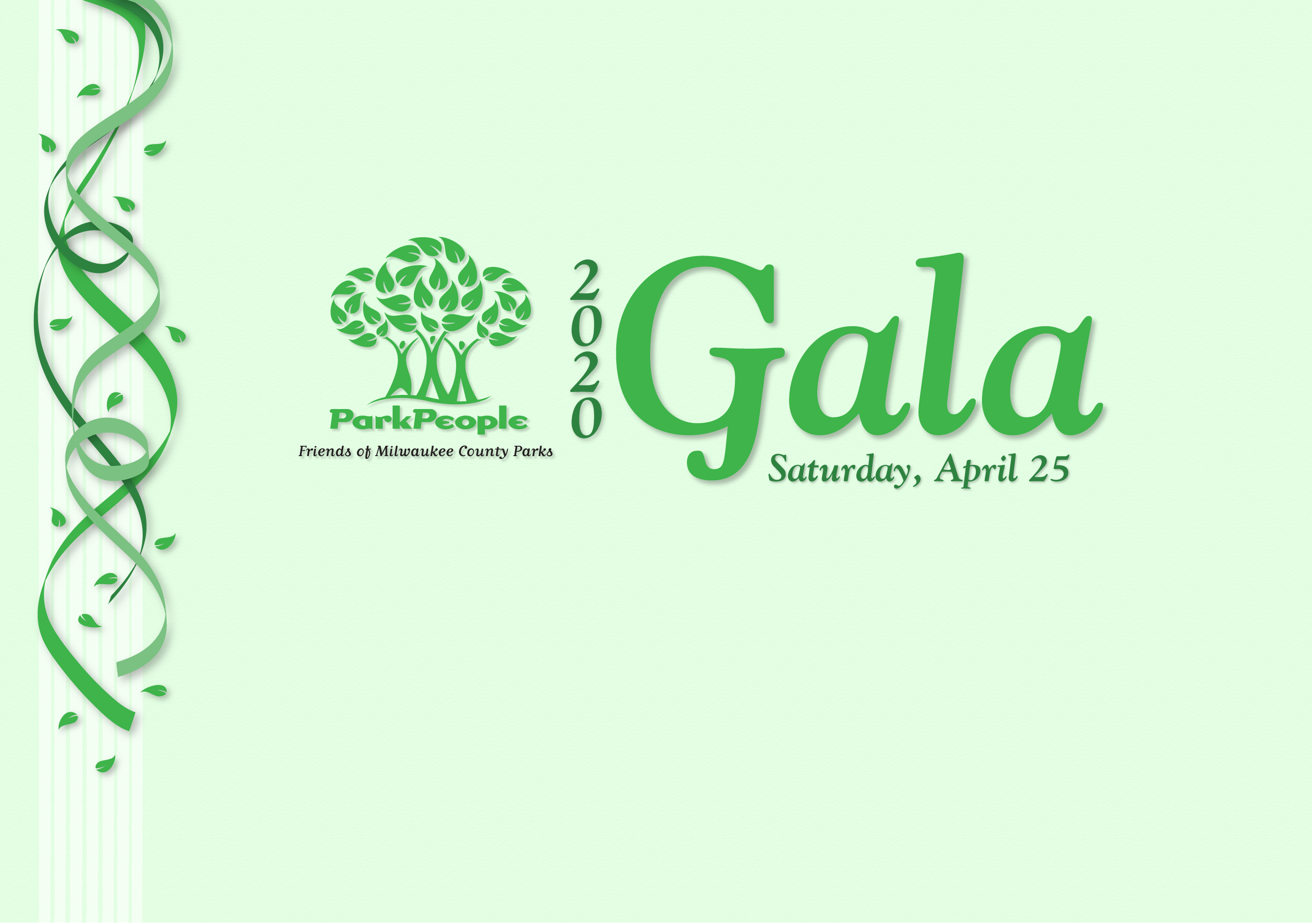 Graphic for The Park People 2020 Gala