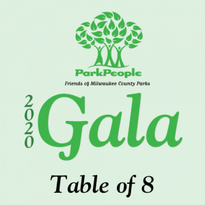 Logo for 2020 Gala table of 8 purchase