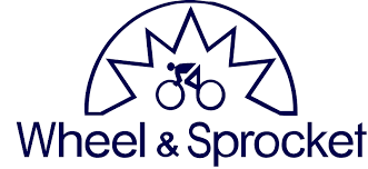 Wheel & Sprocket bicycle shop logo