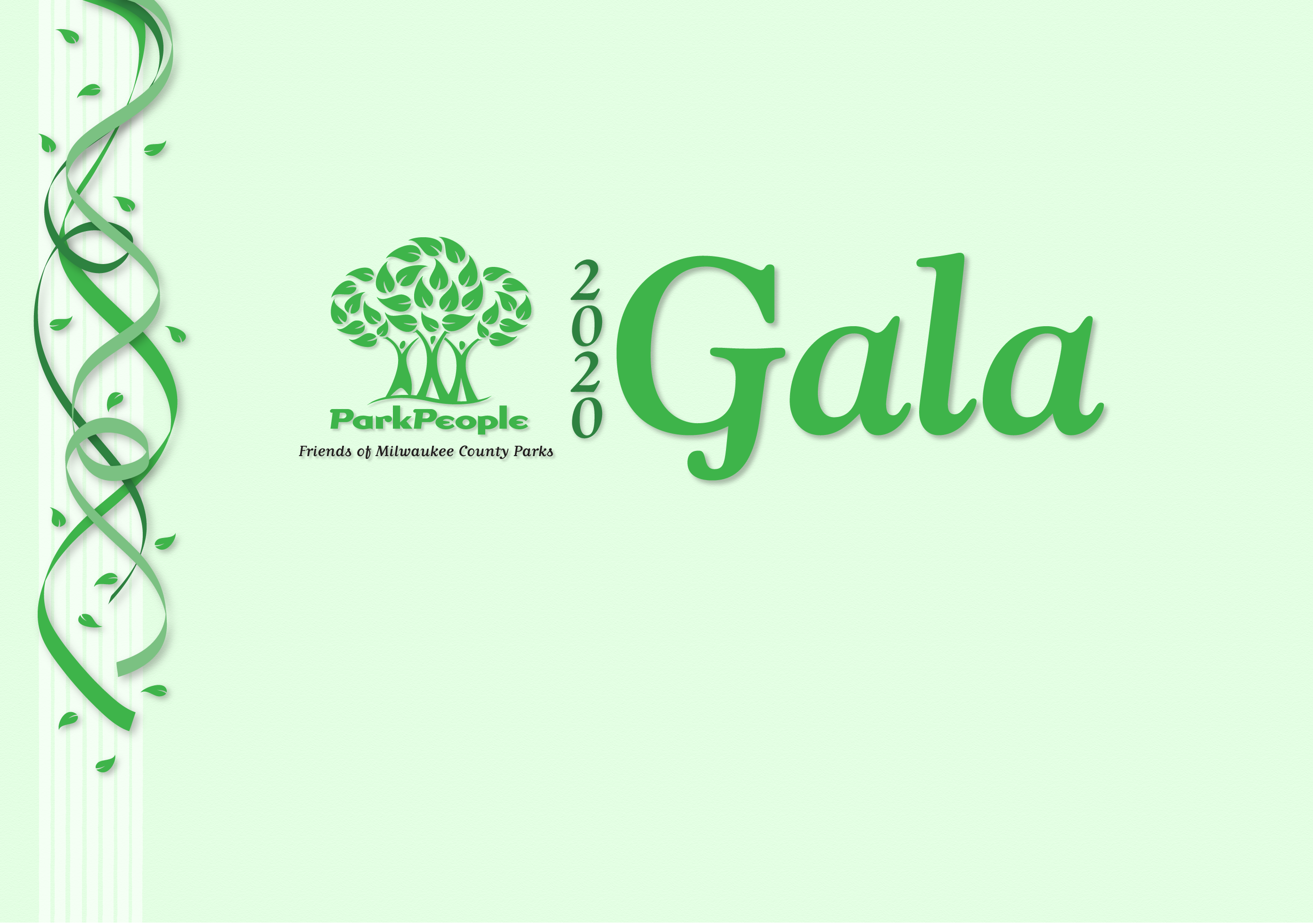 Logo for the 2020 Park People Gala