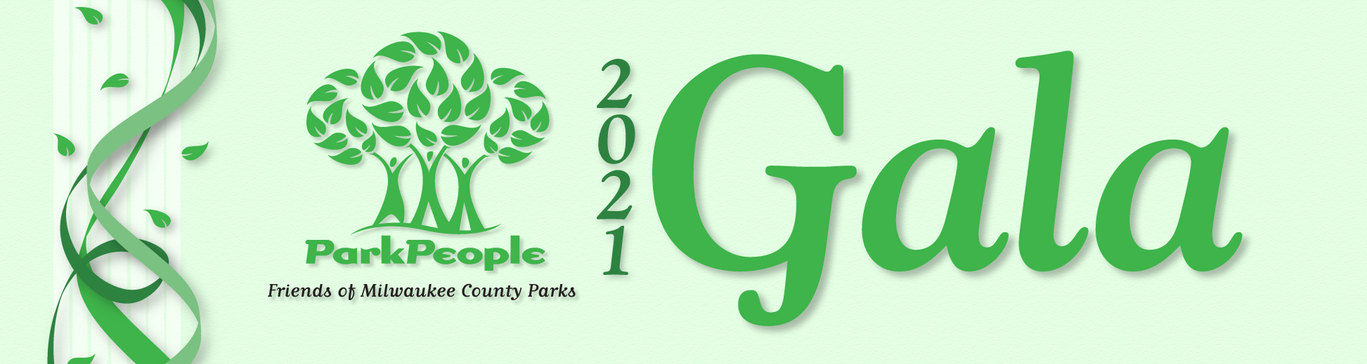 Graphic for The Park People 2021 Gala
