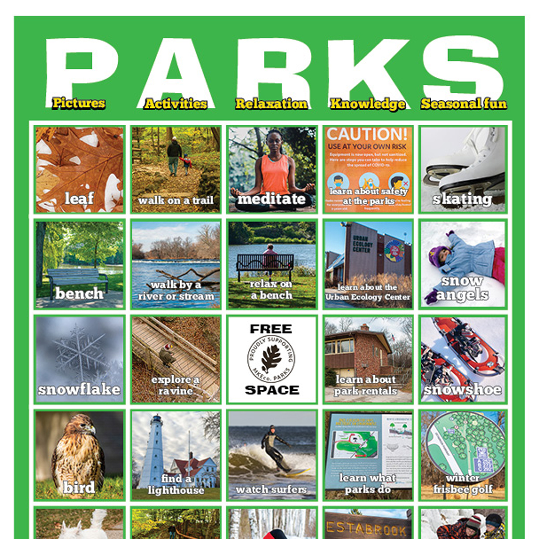 Photo of PARKS card