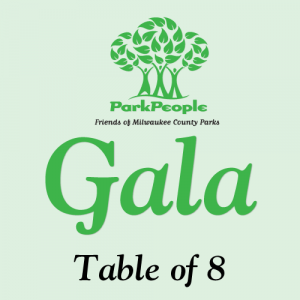The Park People Gala table of eight graphic