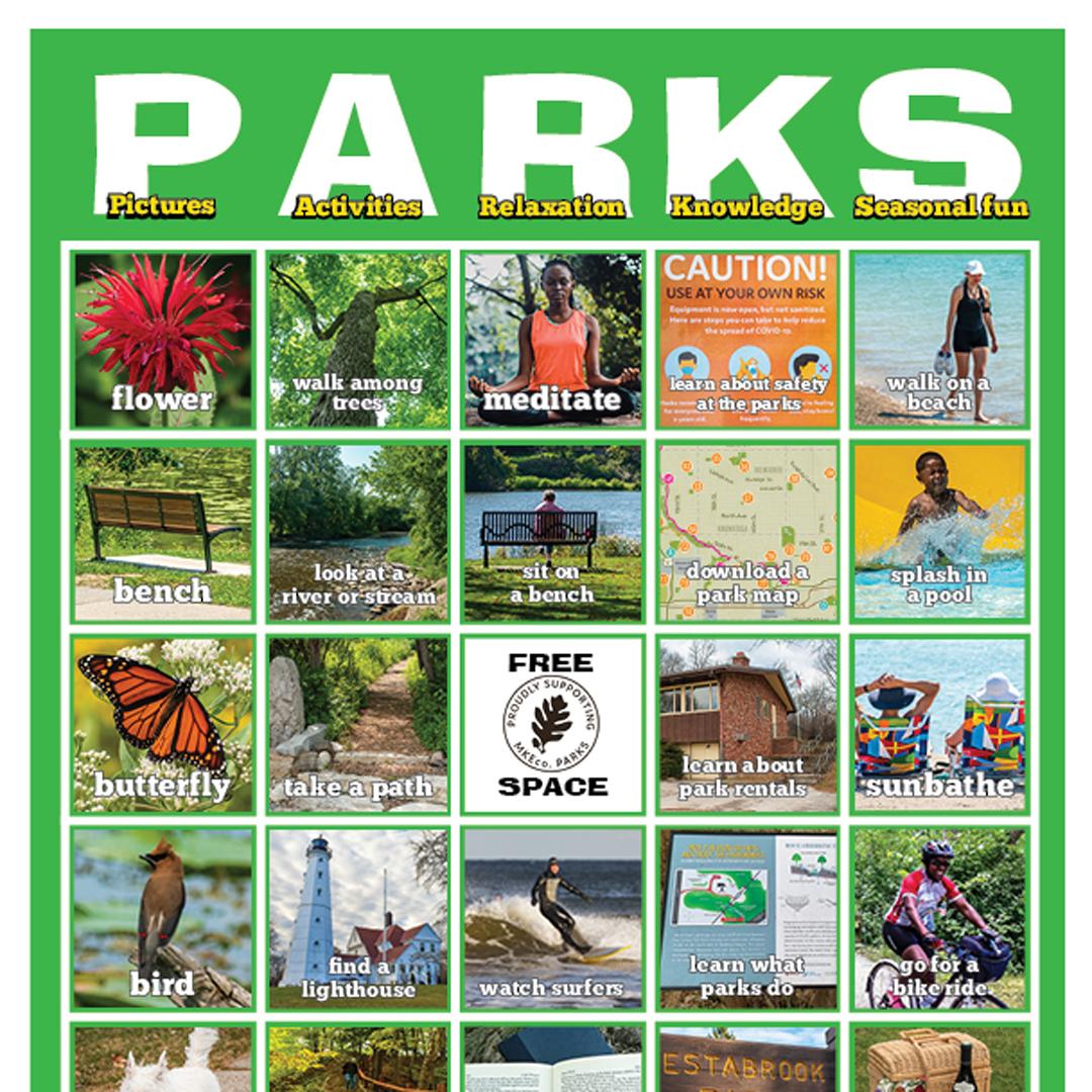 Summer PARKS card